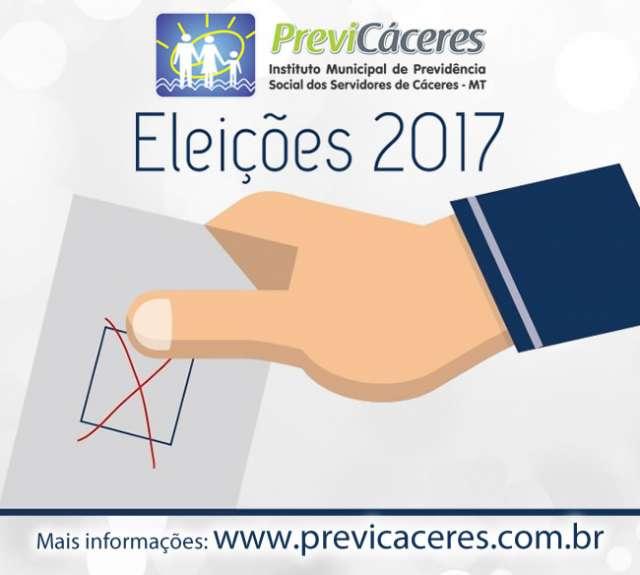 Previ-Cáceres realiza eleição para membros dos Conselhos de Gestão e Fiscal do Instituto