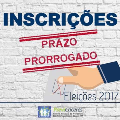 Previ-Cáceres prorroga período de inscrição para eleição dos membros dos Conselhos de Gestão e Fiscal