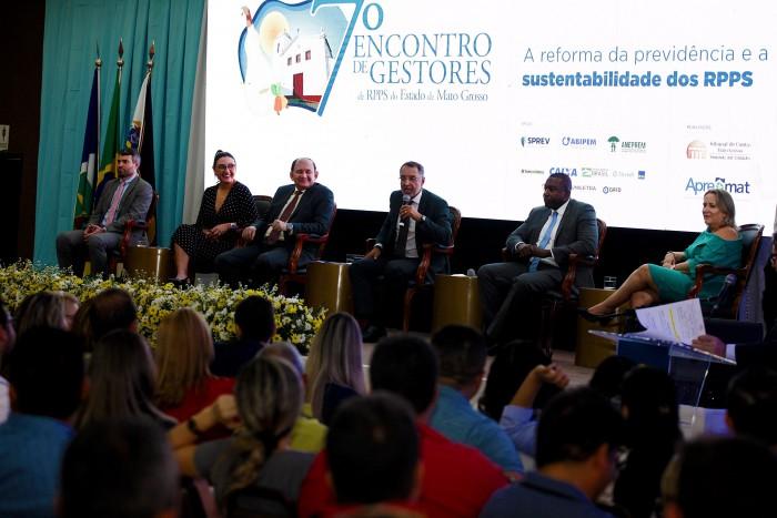 APREMAT realiza evento de capacitação estadual para RPPS em parceria com o Tribunal de Contas do Estado de Mato Grosso